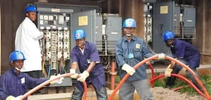ECG gives popular brewing company in Ghana award for always paying their bills on time