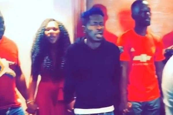 Shatta Wale spends Val's Day praying