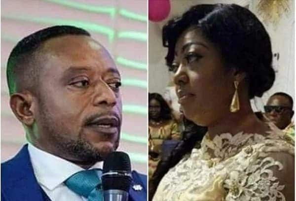 Owusu Bempah's new wife 'caught' drinking 'akpeteshie