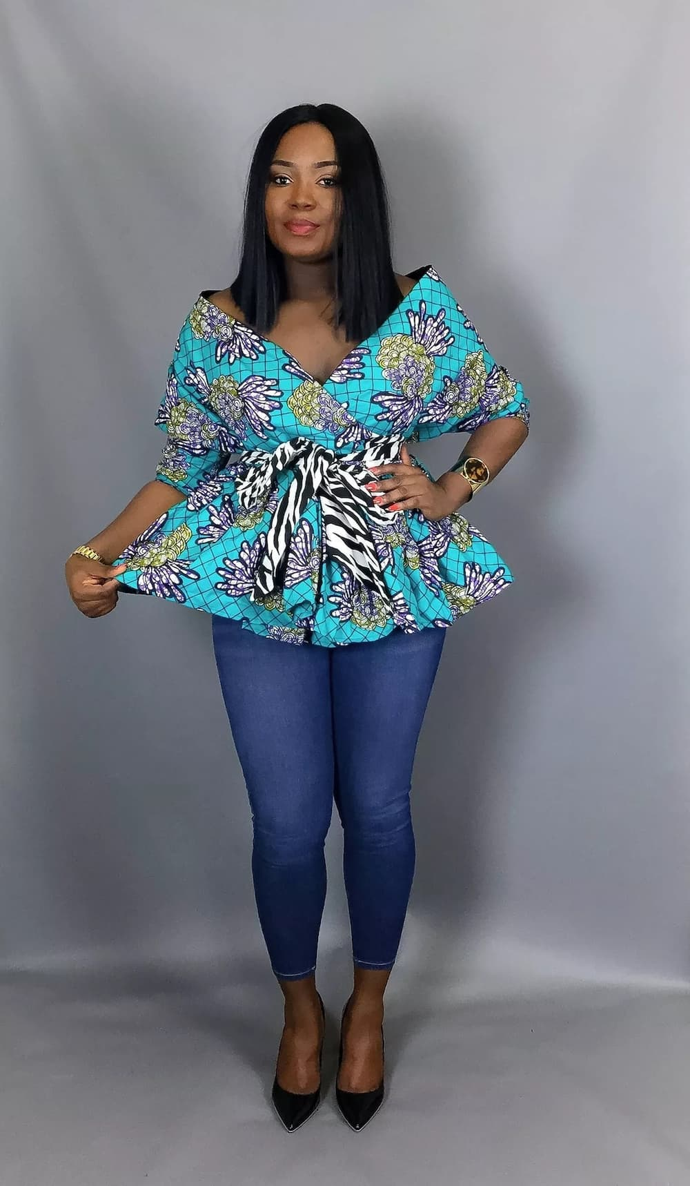 2708553108b25b Top trending African print styles for office ▷ YEN.COM.GH