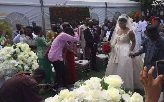 Exclusive: A Plus and Akosua Vee are officially man and wife (Photos, Video)