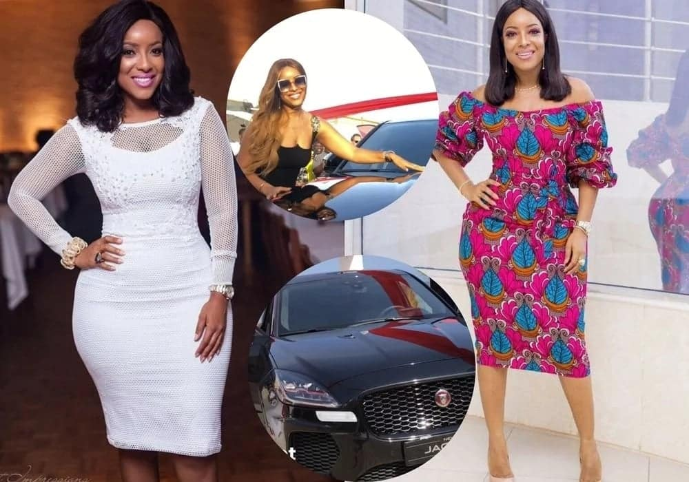 Photos of Joselyn Dumas and the car