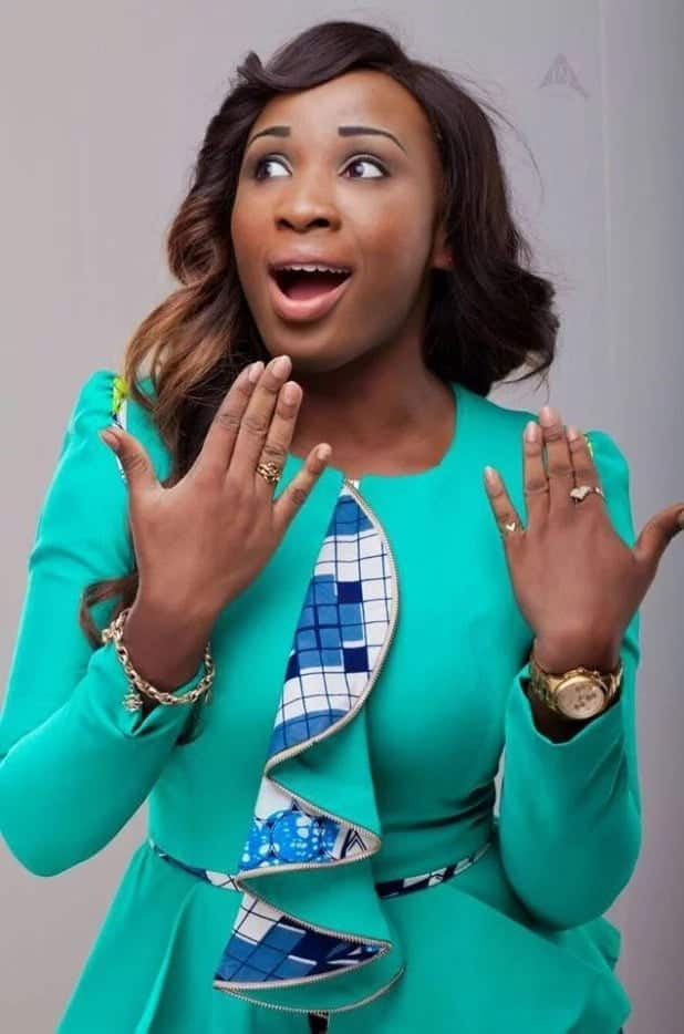 Naa Ashorkor in surprised shot