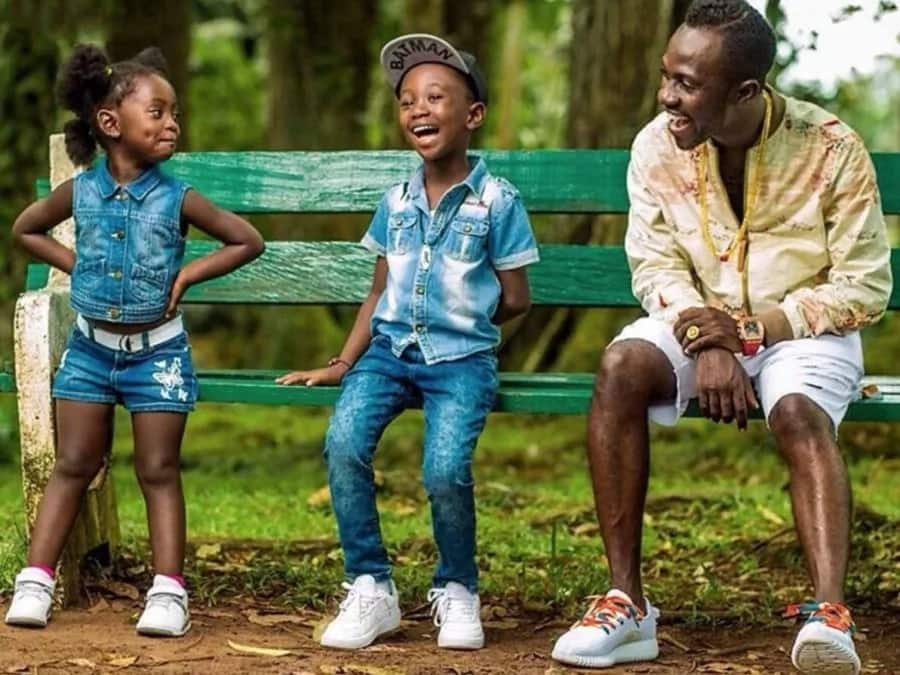 Here are photos of some Ghanaian celebrities and their children