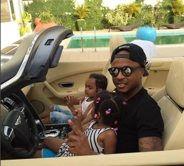 Andre Ayew share lovely photo of daughter on her birthday