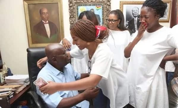 8 photos that prove Nana Addo has a beautiful and supportive family