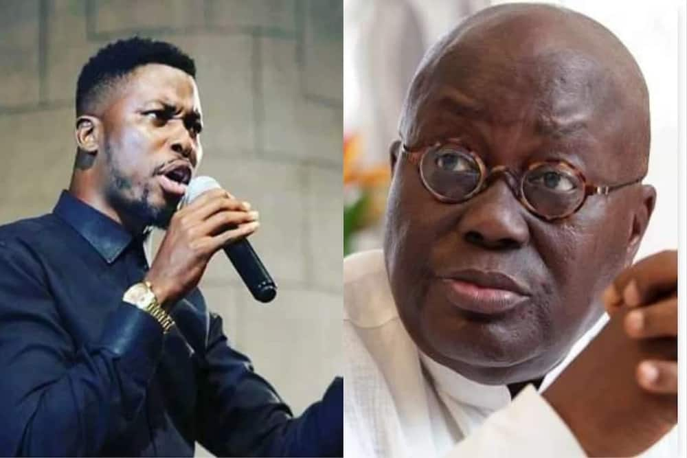A Plus slams Akufo-Addo over 'susu' for cathedral; Ghanaians didn't vote for you for that