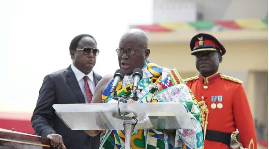 President Akufo Addo re-affirms his intent to fight corruption in his inauguration speech