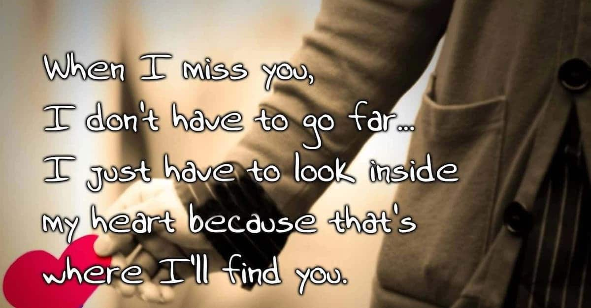 miss you quotes, love quotes for her, love message to her