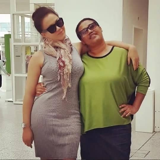 Nadia Buari gushes about her mum on her birthday