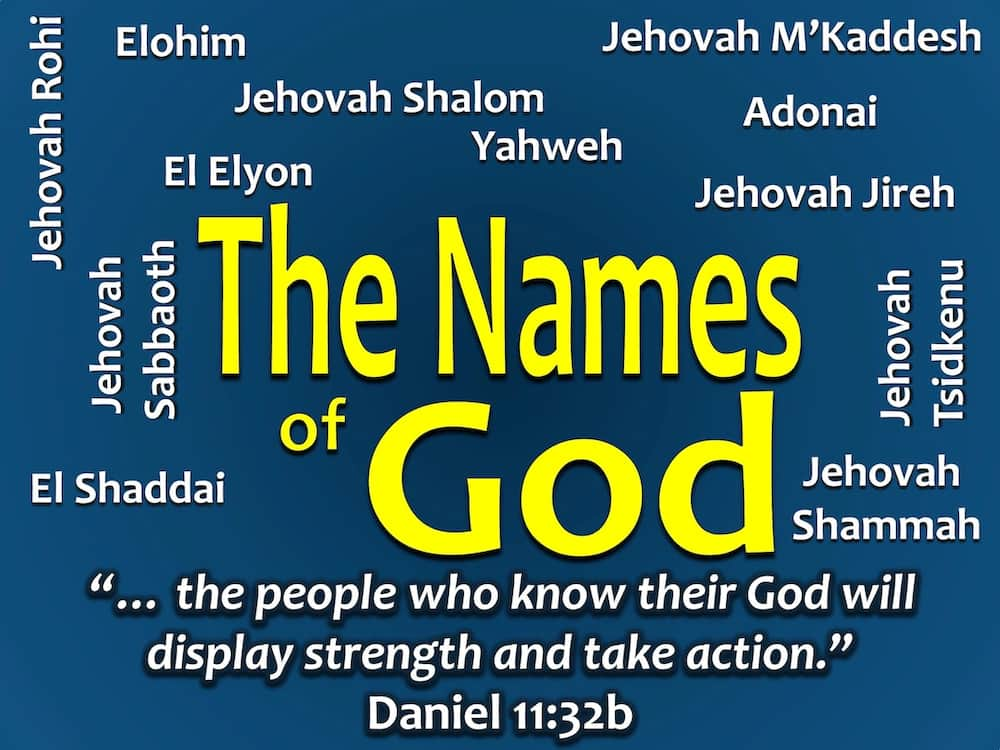 God names and meanings