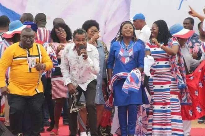 Attorney General shows her dancing skills at NPP's delegates' congress
