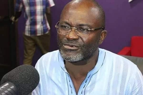 Video: Dozens of needy Ghanaians rush to Ken Agyapong for money, jobs