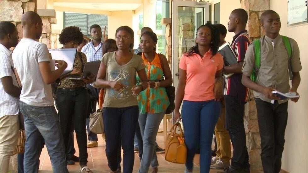Ashesi University courses and fees