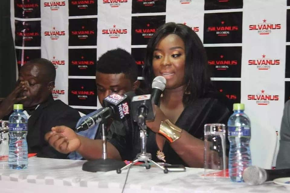 Maame Serwaa signs juicy contract with Silvanus Records
