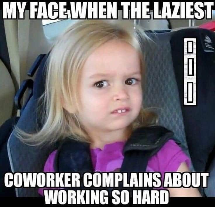 Funny memes about work friends