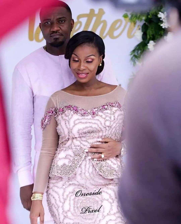 Photos from John Dumelo's wedding