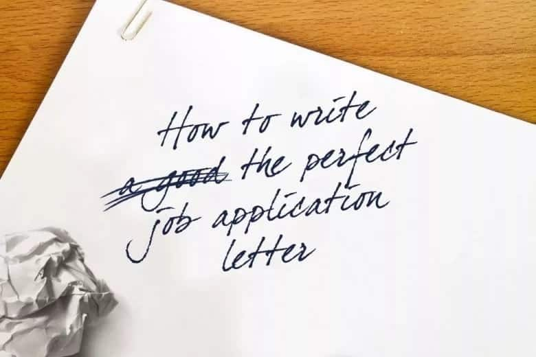 How to write an application letter without experience