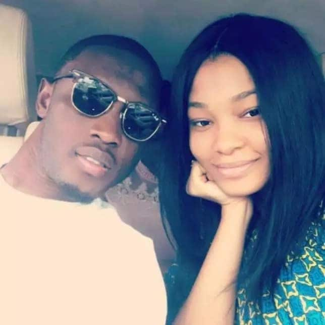 Abdul Majeed Waris and his wife, Habiba pose for a selfie
