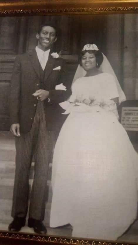 Wedding photos of Kufuor and Theresa pops up online