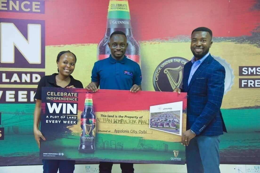 Wa Polytechnic student gets land reward in Guinness Promo