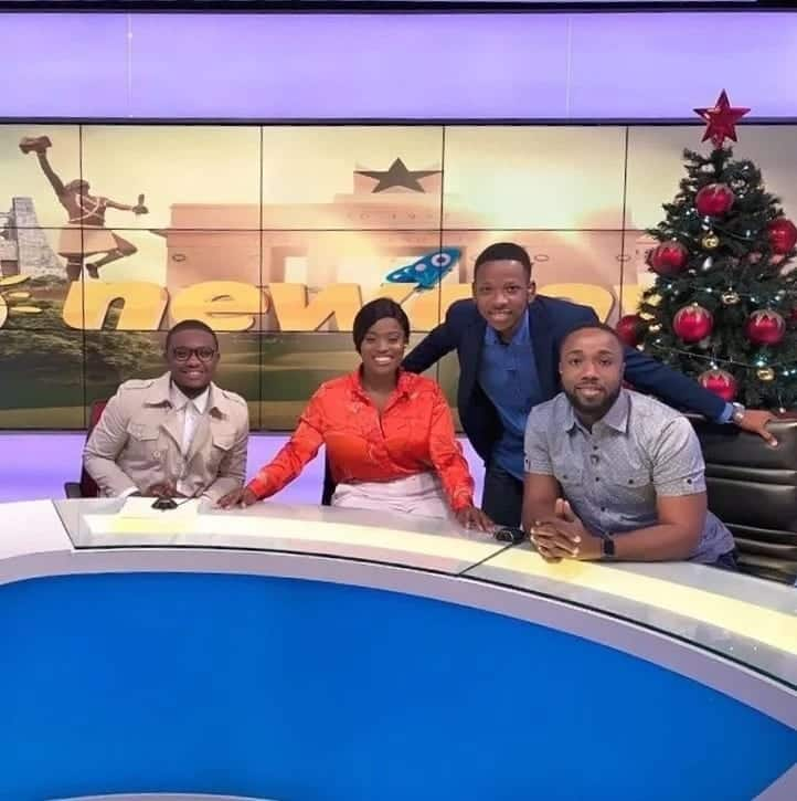 YOLO Actress, Serwaa Opoku Addo got the chance to read news on TV3 and she can't hide her joy