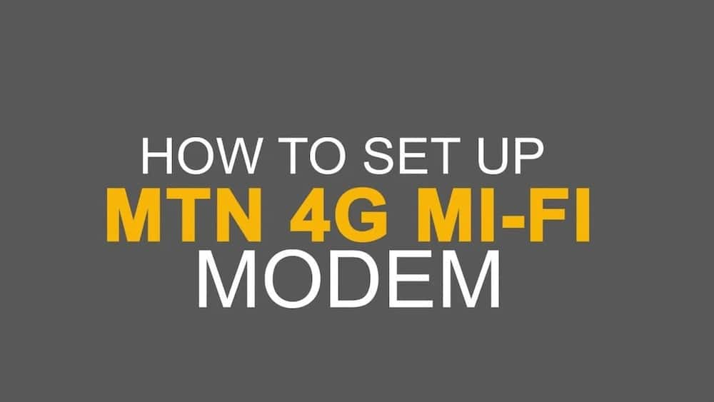MTN 4g code for internet settings ▷ YEN COM GH