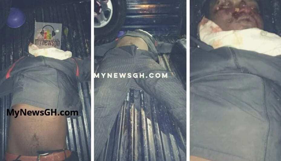 Police escort kills suspected highway robbers on Techiman-Sunyani road