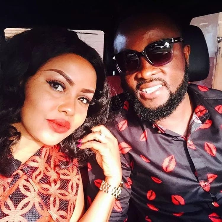 Nana Ama McBrown lights up social media with a lovely birthday wish to her hubby (photo)