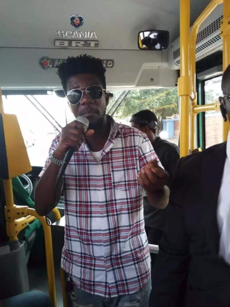 Tic Tac opens up on why he chose to perform in Ayalolo bus