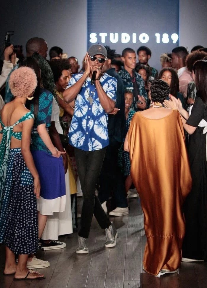 Rapper E.L takes Ghana even higher with electric performance New York fashion week