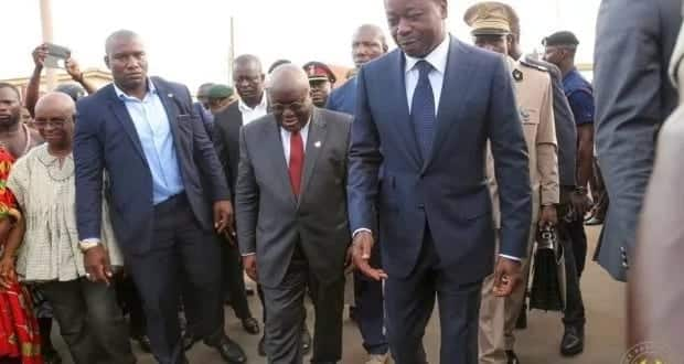 Akufo-Addo meets Togo President over political crisis