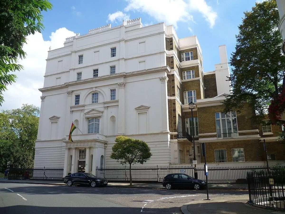 Burglar entered Ghana's High Commission in London from back door