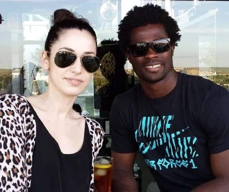 These are 11 players of Ghana's Black Stars team and their spouses