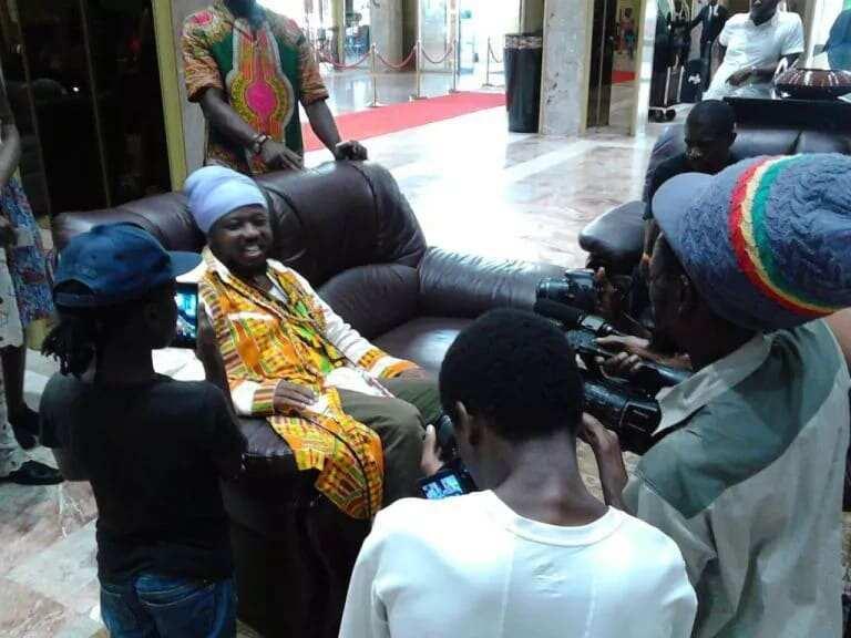 Blakk Rasta at Mugabe's 92nd birthday and Zimbabwe Music Awards