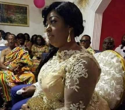 Owusu Bempah's new wife 'caught' on camera drinking 'akpeteshie'