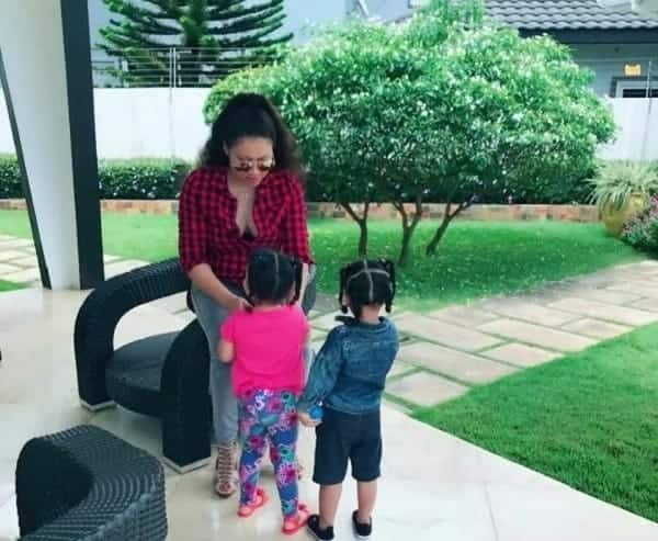 Nadia Buari 'entices' her fans with new stunning photos