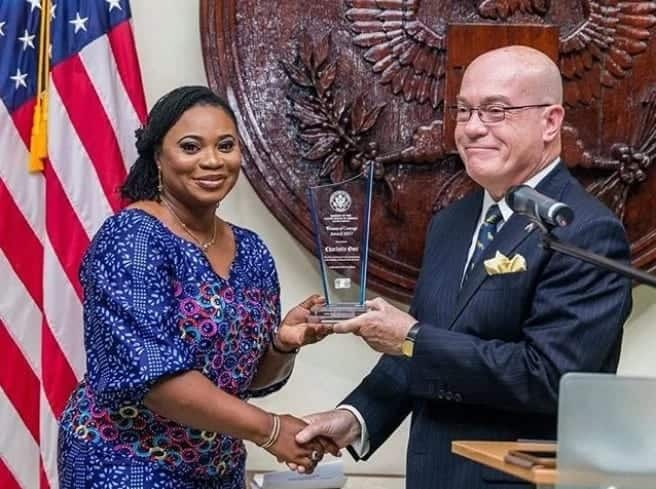 US embassy honors Charlotte Osei