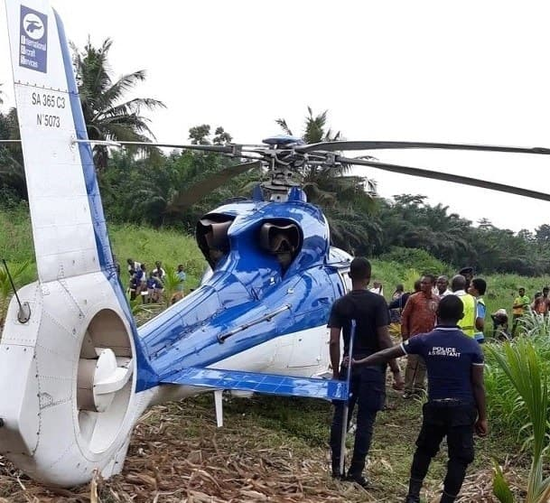 Helicopter loaded with gold lands on farm in E/R