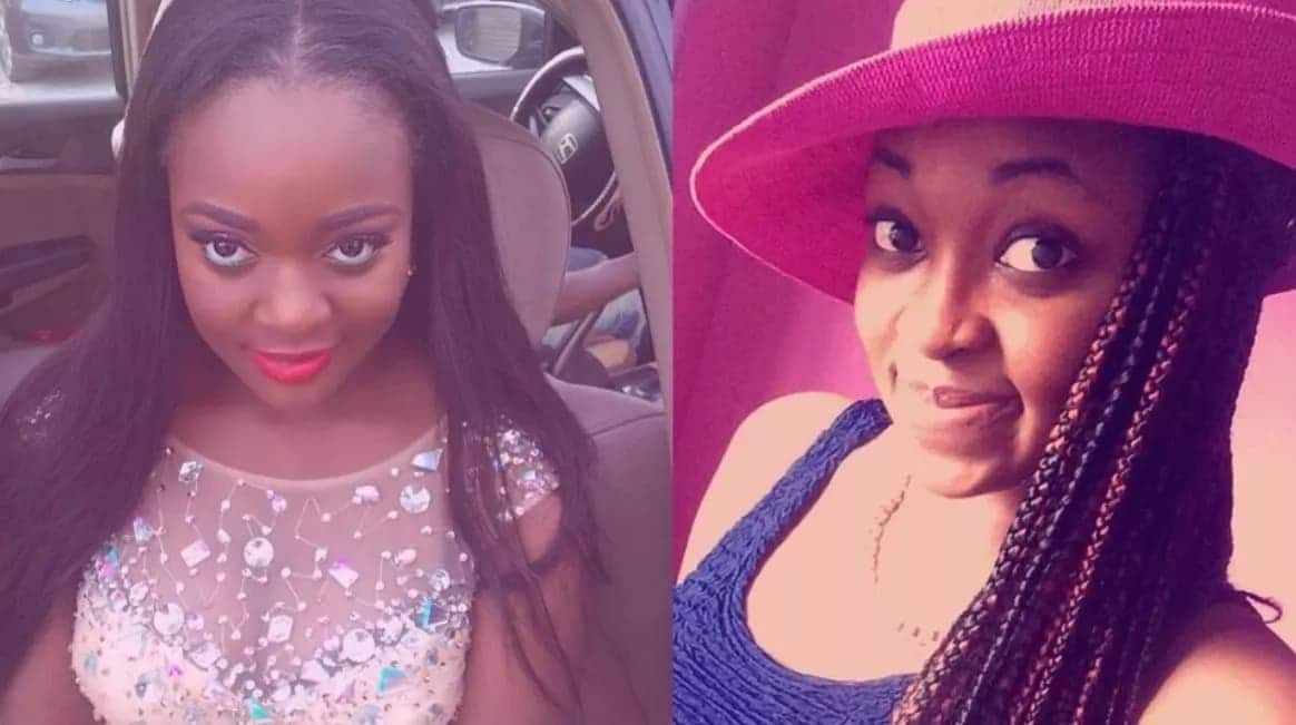 Jackie Appiah and Her Twin Sister