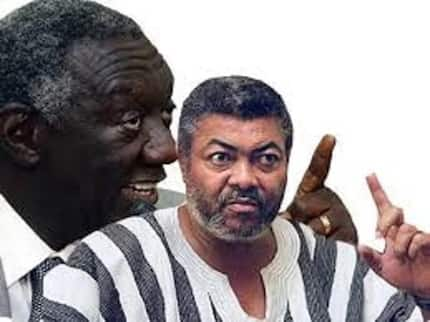 Kufuor angrily reacts to 'unsympathetic' Rawlings over Nkrumah legacy criticism