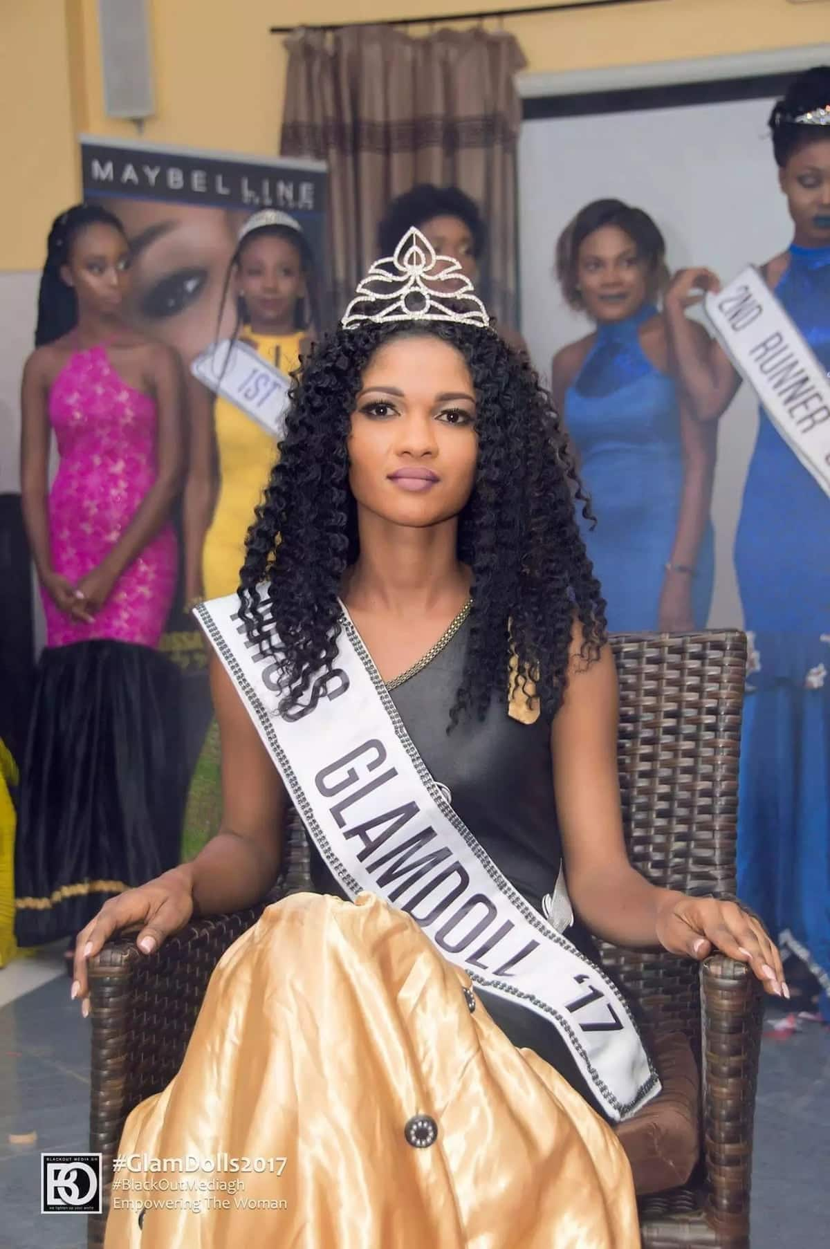 Beauty with a glammed up purpose: Meet the 2017 Glamdol queen turning the lives of young children around