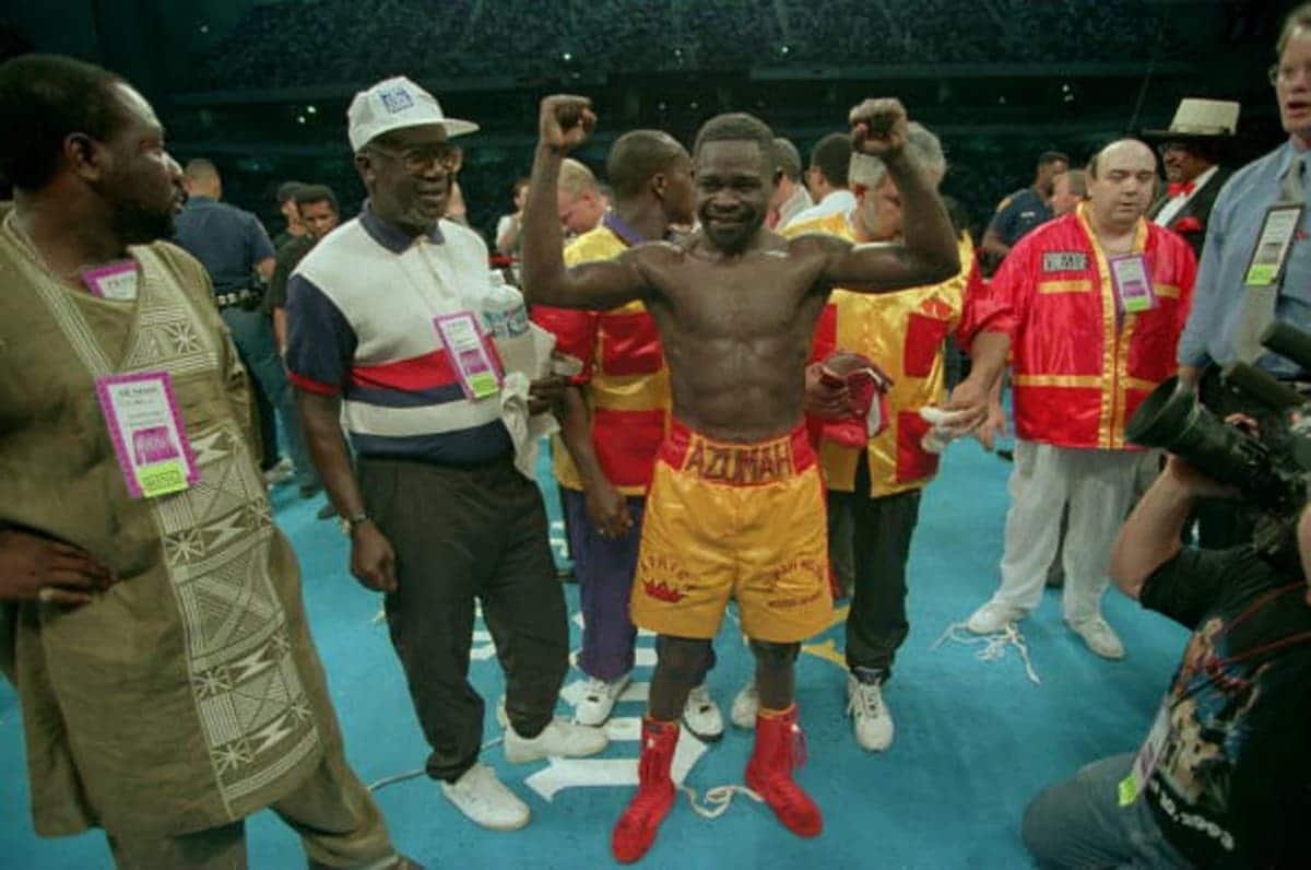 Meet Ghana's boxing world champions