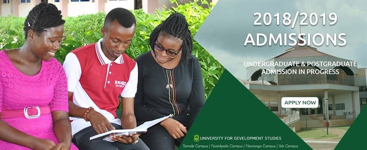 Programs offered at UDS tamale campus