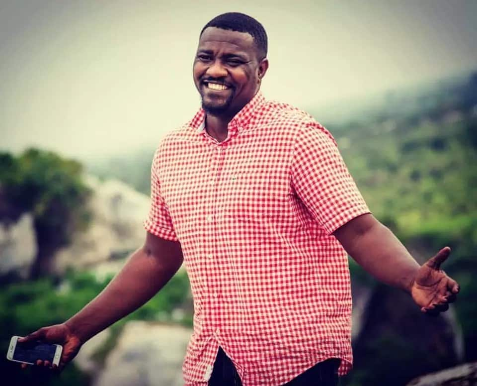 John Dumelo shows his true Ewe heritage with Banku