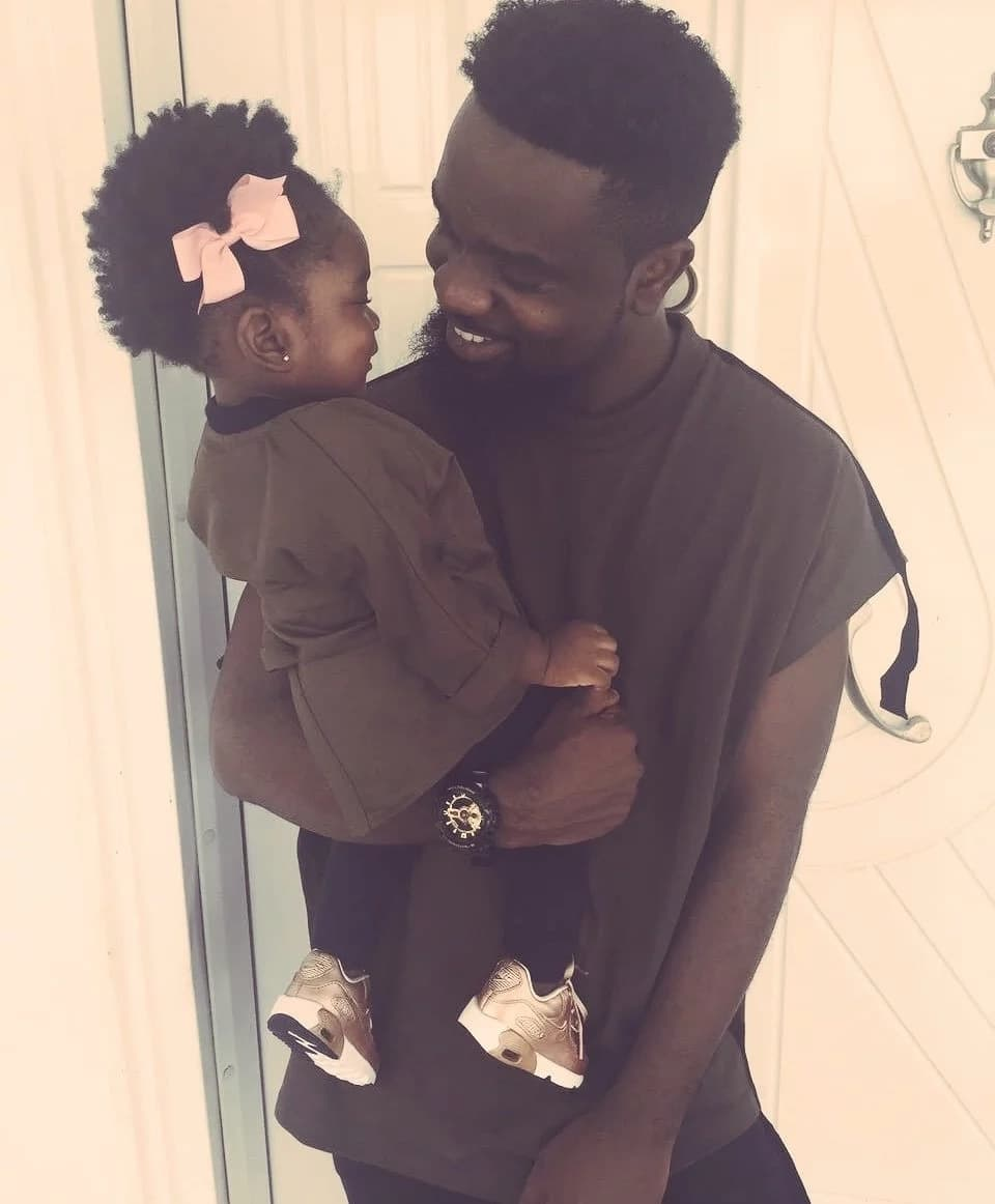 Sarkodie shares the most adorable photos of he and his daughter