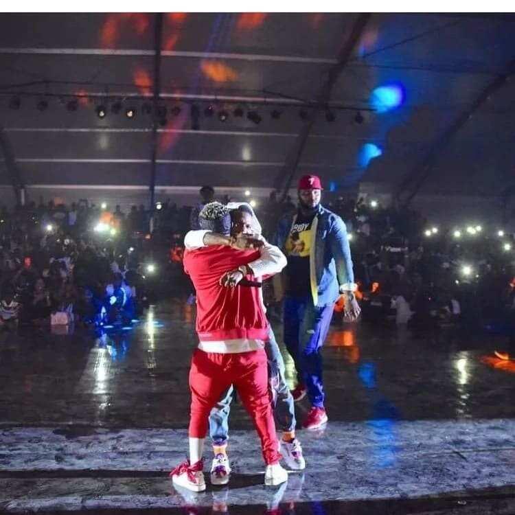 Photos of celebrities at Ghana Meets Naija