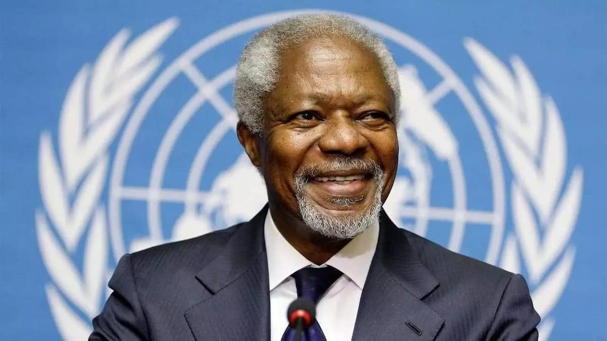 Today in History: Ghanaian diplomat late Kofi Annan received Nobel Peace Prize