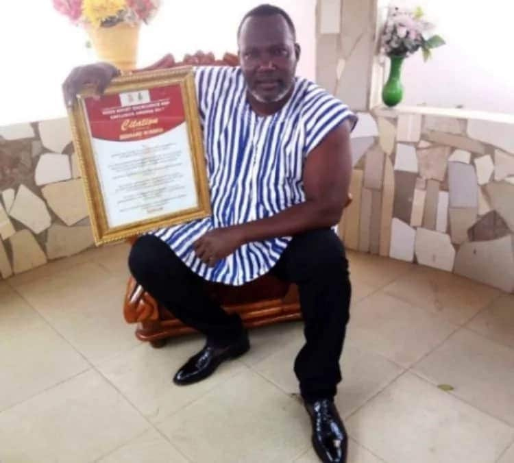 Kumawood actor, Bishop, receives honorary award from KNUST at colourful ceremony
