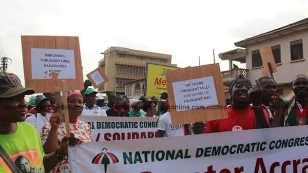 NDC embark on unity walk to reaffirm September 21 as Founder's Day